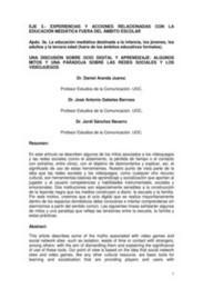 Daniel Aranda - Jose Antonio Gabelas | Educomunicación | Scoop.it