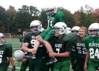 Mich. middle school football team conspires for touching touchdown | Specialized Instruction | Scoop.it
