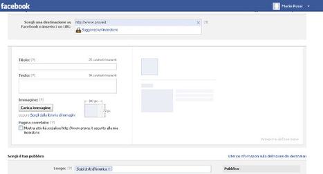 Come fare una campagna pubblicitaria su facebook   Web Design & Corporate image   Scoop.it