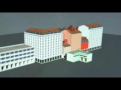 CNRS Images : Ville en 3D (La) | Cours | Scoop.it