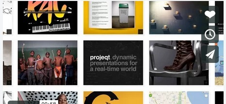 Try Projeqt for Creating Visual Stories from Your Favorite Bookmarks | Contenidos digitales | Scoop.it