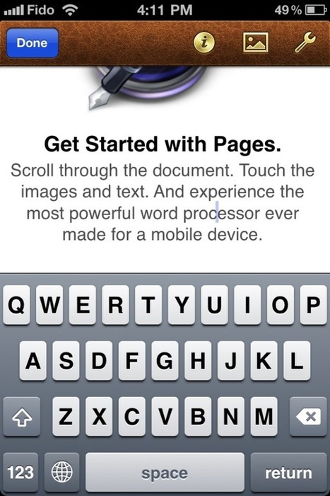 Apple's Pages for iOS still needs some work | Mobility Evangelist's Digest | Scoop.it