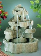 Large Rock Falls Fountain | Water Fountains | My Science Resources | Scoop.it