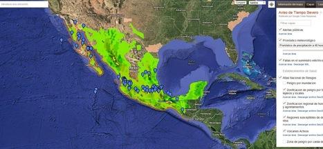Geoinformación: Los mapas de alertas para emergencias de Google llega a México | #GoogleMaps | Scoop.it