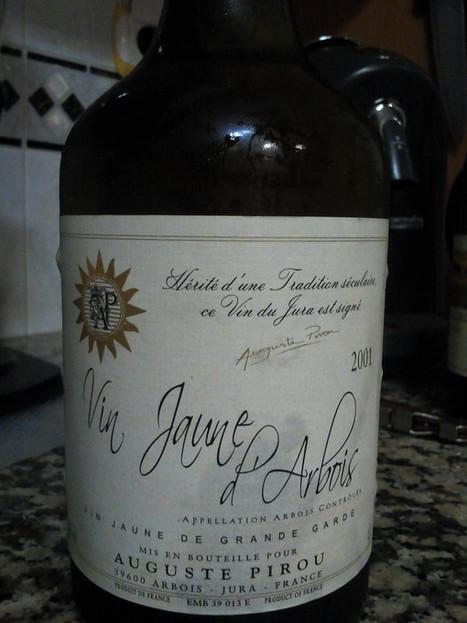Da região de Jura #vinhodanoite Vin Jaune D'Arbois 2001 ... on Twitpic   #vinhodanoite   Scoop.it
