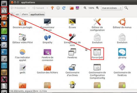 Clapico : Un lanceur «Forcer à Quitter» dans le dock Unity d'Ubuntu | Actualités de l'open source | Scoop.it