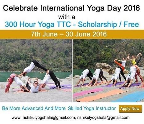 International Yoga Day Celebration | Yoga and Meditation | Scoop.it