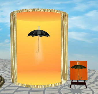 Must-See Second Life Art Exhibit: After Magritte, Surrealism Reimagined in Two Dimensions | Machinimania | Scoop.it