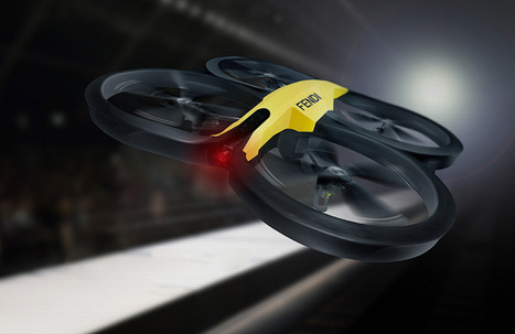 Fendi has proposed the first fashion parade filmed by drones during the FASHION WEEK | Technology | Scoop.it