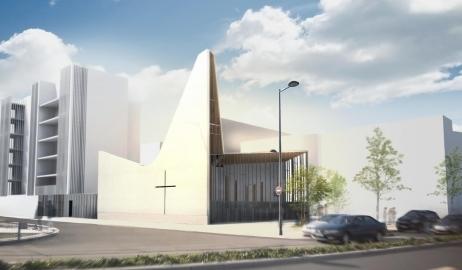 Une nouvelle église à Bordeaux dans le quartier Ginko   Salon Innobat - Achat Public   Scoop.it