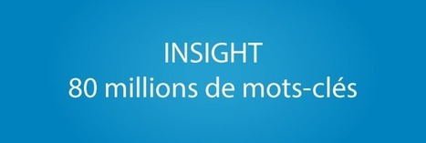 #INSIGHT : En route pour 80 millions de #mots-clés ! | Marketing Digital - SEO - SEA | Scoop.it