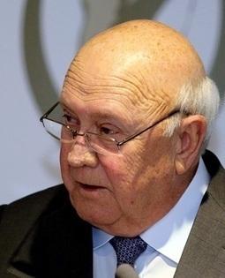 Many SA leaders not following Mandela   De Klerk | Business Video Directory | Scoop.it
