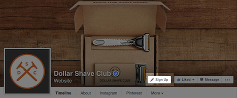 Facebook Launches Call-to-Action Buttons on Business Pages | Communications and Social Media | Scoop.it