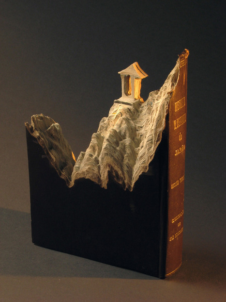 Sculptures out of Books~The Great Wall: Artist Guy Laramee | Visual*~*Revolution | Scoop.it