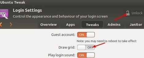 Supprimer les points blancs sur l'écran de login d'Ubuntu | ubuntu | Scoop.it