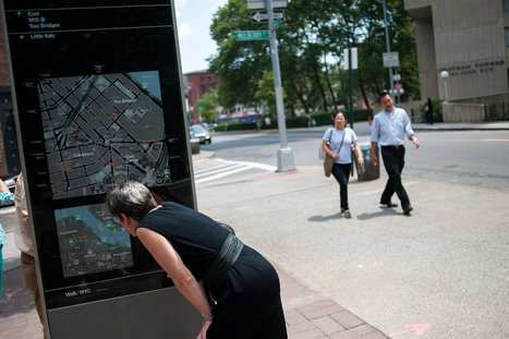 Lost? New York Pedestrian Maps Are Coming | HIT maps & mapping | Scoop.it
