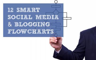 12 Smart Social Media and Blogging Flowcharts | Social Media Exploration | Scoop.it