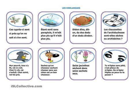 Jeu de cartes. Les virelangues | Fr | Scoop.it