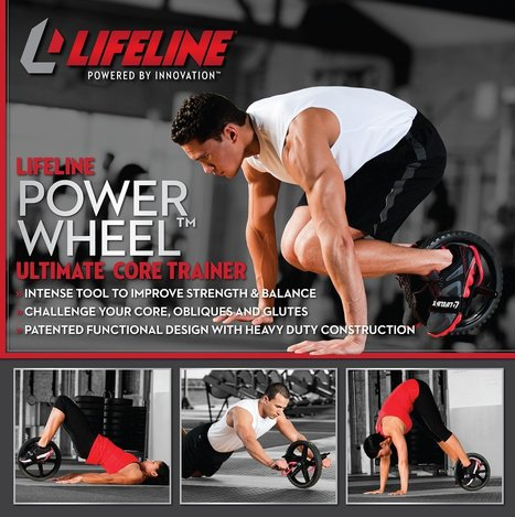 Honest Lifeline Power Wheel Review - Ab Machines & Workouts   Ab Machines & Abdominal Exercises   Scoop.it
