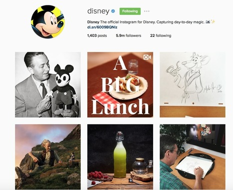 How Fortune 500 brands use Instagram and what every brand can learn | Working Stuff | Scoop.it