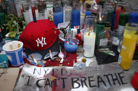 """""""I can't breathe!"""" Police overreach, Eric Garner and the chokehold of racism 