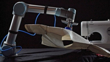 A robot that sews could take the sweat out of sweatshops   DigitAG& journal   Scoop.it