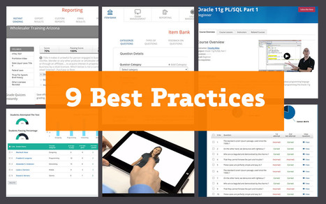 9 Best Practices for Presenting Content on e-Learning Course | Custom LMS for Training & Assessment | Custom Online Examination Solution | Scoop.it