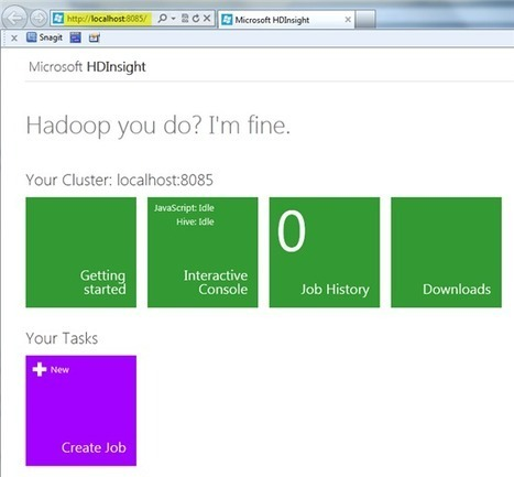 Hadoop adventures with Microsoft HDInsight | HDInsight | Scoop.it