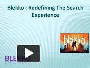 Blekko : Redefining The Search Experience | Business | Scoop.it