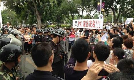 La ville de Maoming se soulève contre un projet d'usine pétrochimique | Chine Actu | Scoop.it