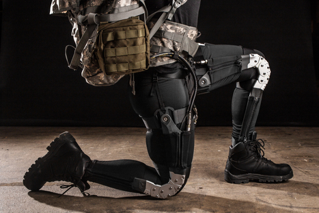 DARPA's robotic suit seeks to help soldiers in the field | Robotic Suits | Scoop.it