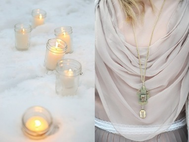 Semplicemente Perfetto: {Wedding} DIY & Vintage Winter Wedding | Go Wedding | Scoop.it