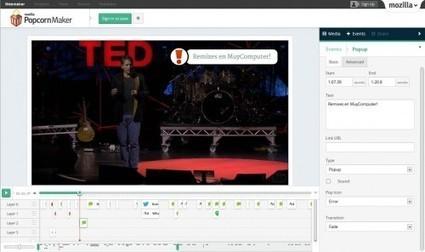 Mozilla lanza Popcorn Maker 1.0, un singular editor de vídeo online   Tecnologia educativa   Scoop.it