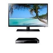 "Reviews  Samsung UN19F4000 19"" 720p 60Hz LED TV - Bundle - with Samsung BD-F5100 Blu-ray Disc Player 
