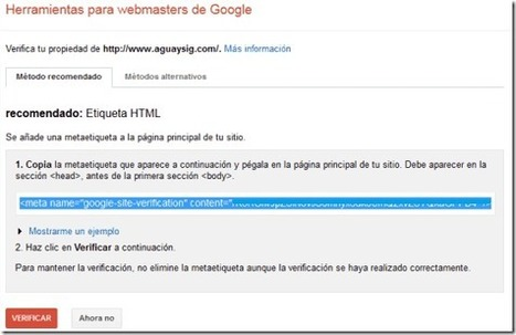 Google webmaster tools - Mi Blog en Blogger seorimícuaro | SEO y Posicionamiento | Scoop.it