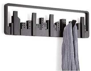 Moderno perchero de pared Skyline.   Mil ideas de Decoración   Accesorios decoración   Scoop.it