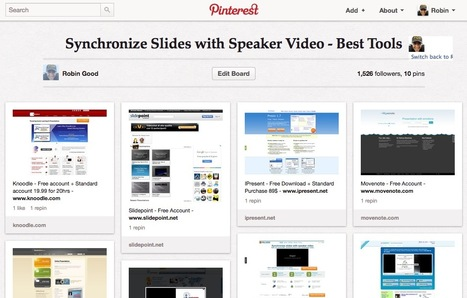 Synchronize Presentation Slides with Speaker Video from an Event - The 10 Best Tools | digitalcuration | Scoop.it