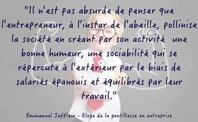 Eloge de la gentillesse en entreprise - Emmanuel Jaffelin | Facilitation du travail d'équipe | Scoop.it
