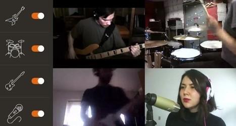 Jamly, plataforma para crear vídeos musicales con otras personas a través de Internet | FOTOTECA MUSICAL | Scoop.it