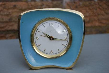 Ingersoll Enamel Alarm Clock | Antiques & Vintage Collectibles | Scoop.it