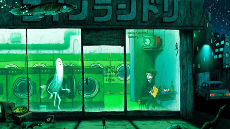 Concept Art Writing Prompt: The Laundromat of Horrors | Strange days indeed... | Scoop.it