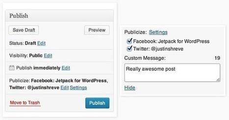 5 méthodes pour partager les articles de votre blog sur les réseaux sociaux | Technologies & Web Quezako | Scoop.it