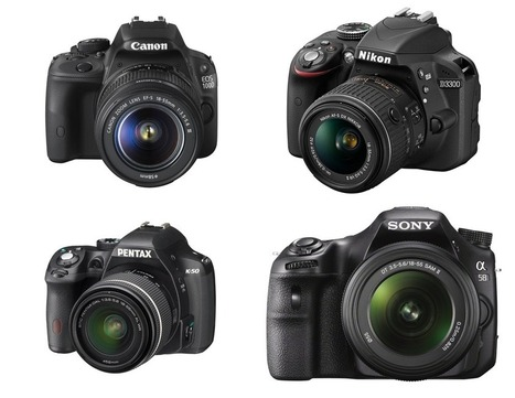Camera Review: A Buyers Guide to Entry-Level DSLR's | Photography Tips & Tutorials | Scoop.it