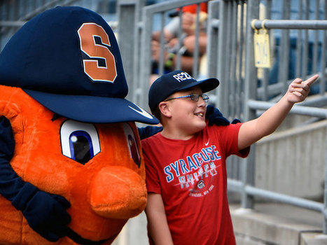 Inside Otto the Orange: What's it like to be the Syracuse University mascot? | Mascots | Scoop.it