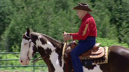 Perth man still riding horses at age 101 | Natural Horsemanship | Scoop.it