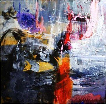 Muriel Massin  Abstract  Painter    France | Vitrinart and shares -solidarity | Scoop.it