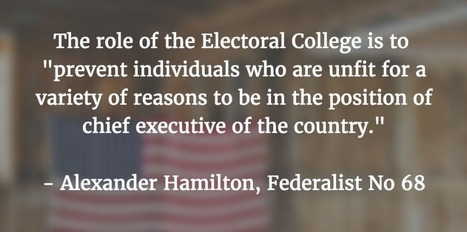 Purpose of Electoral College | Durff | Scoop.it