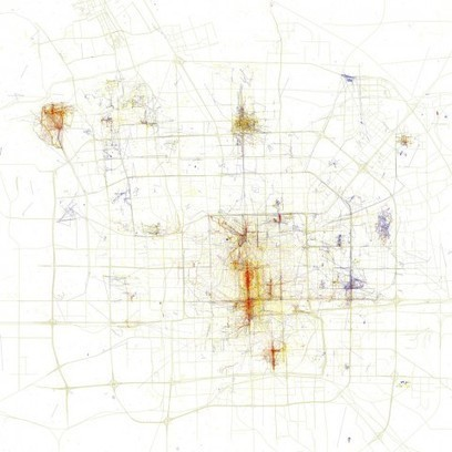 Fascinating maps show the different places locals and tourists go in 19 major cities | Primary Source Analysis | Scoop.it
