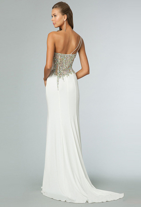 2014 Dazzling Sequin Top White Long One Shoulder Prom Dress [Long One Shoulder Prom Dress] - $200.00 : Cheap Prom Dresses 2014,Cheap Dresses For Prom 2014,Formal Prom Dresses On Sale | Women's Dresses | Scoop.it