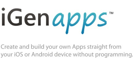 iGenApps™ : The App Generator | New Web 2.0 tools for education | Scoop.it